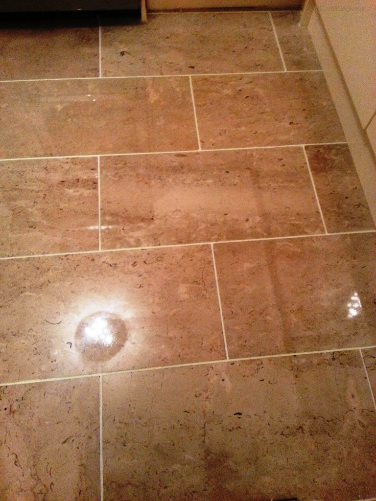 Marble Floor After Polishing
