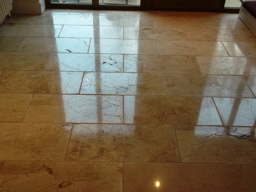 Stone cleaning and polishing tips for marble floors information marble hallway before polishing marble hallway after polishing tyukafo