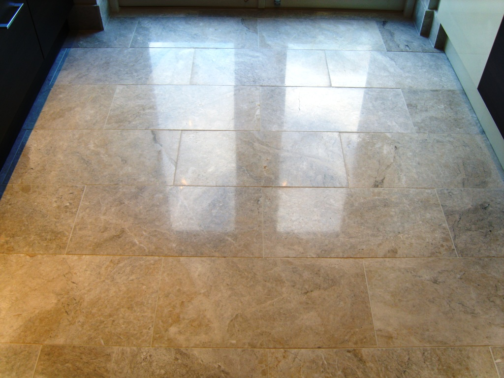 Stone cleaning and polishing tips for marble floors information marble floor before polishing marble floor after polishing dailygadgetfo Images