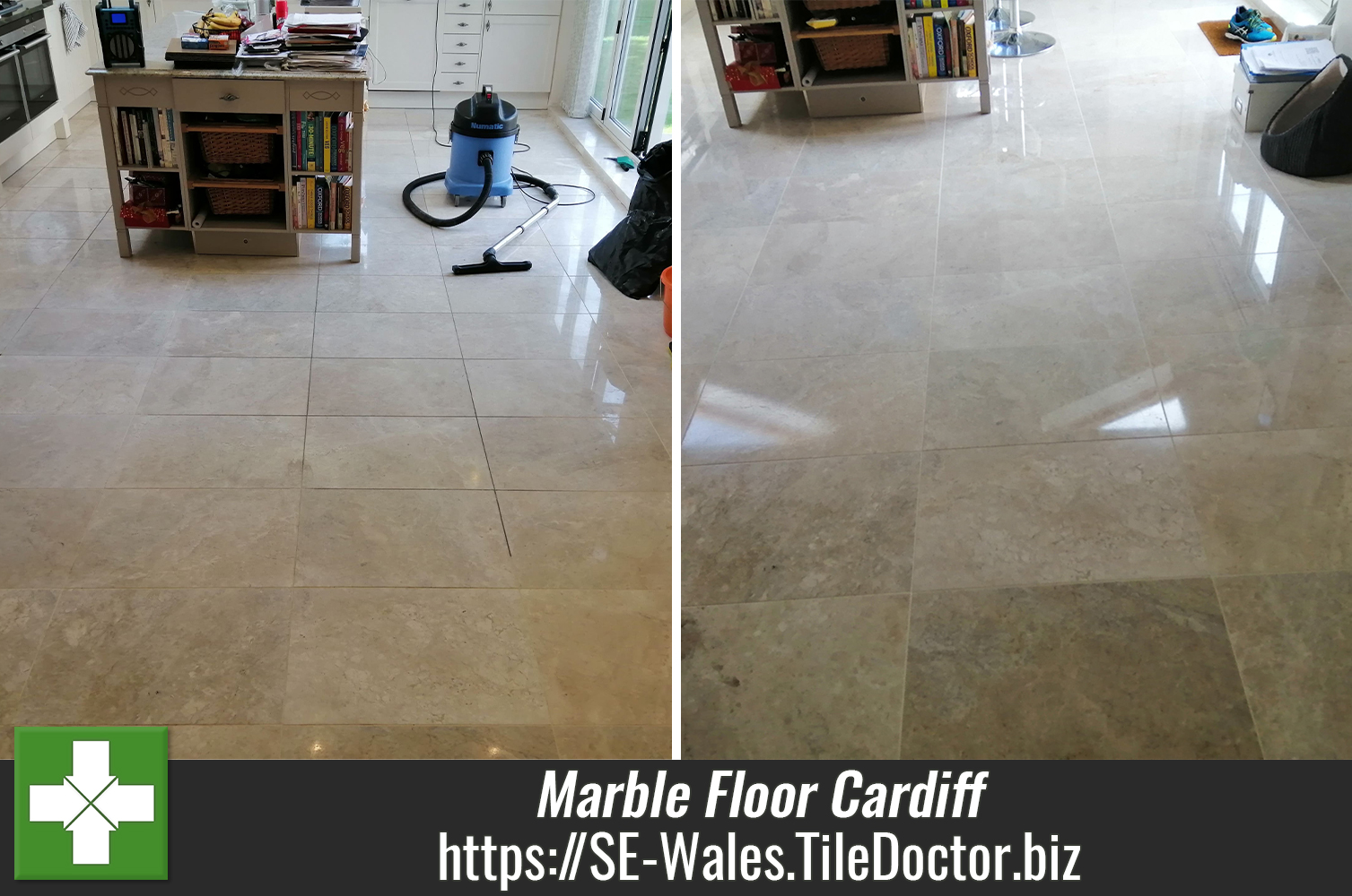 Marble-Tiled-Floor-Renovated-Cardiff-Wales